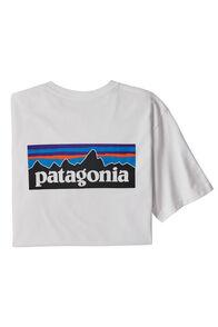 Patagonia P-6 Logo Responsibili-Tee — Men's, White, hi-res
