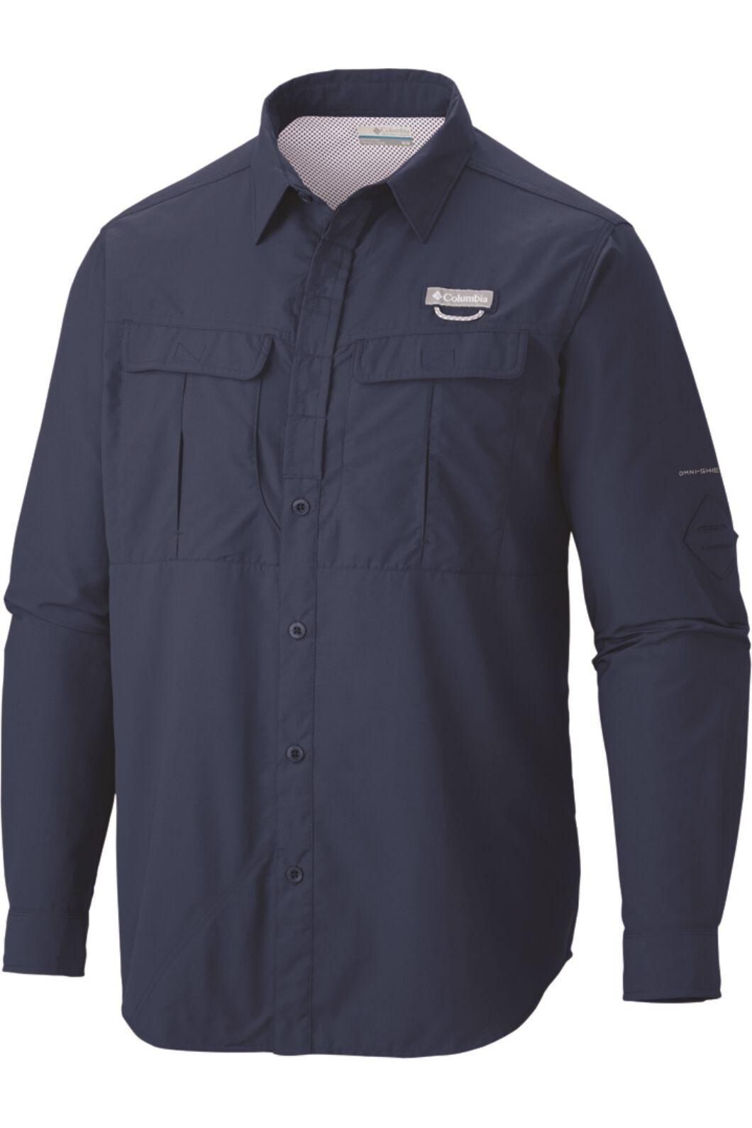 Columbia Men's Cascade Explorer Long Sleeve Shirt, Carbon, hi-res