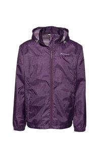 Macpac Pack-It-Jacket, Wineberry Speckle Print, hi-res
