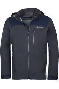 Traverse Pertex Shield® Rain Jacket V2 - Men's, Asphalt/Black Iris, hi-res