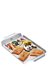 Weber Stainless Steel Grill Pan, None, hi-res