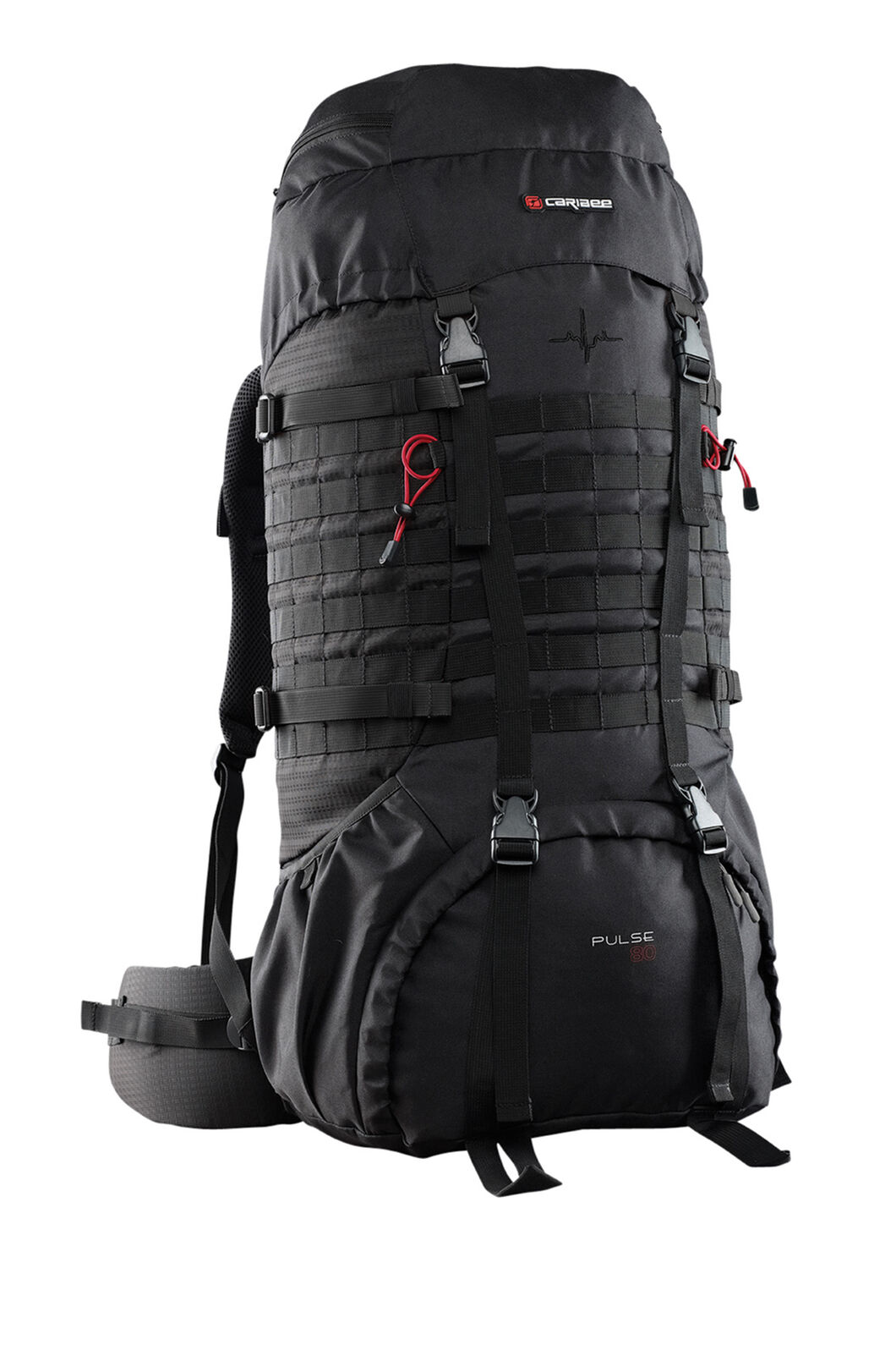 Caribee Pulse Trekking Pack 80L, None, hi-res