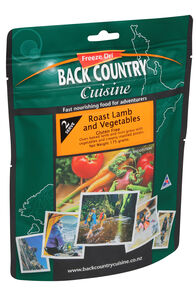 Back Country Cuisine Freeze Dried Food Roast Lamb 2 Serves, None, hi-res
