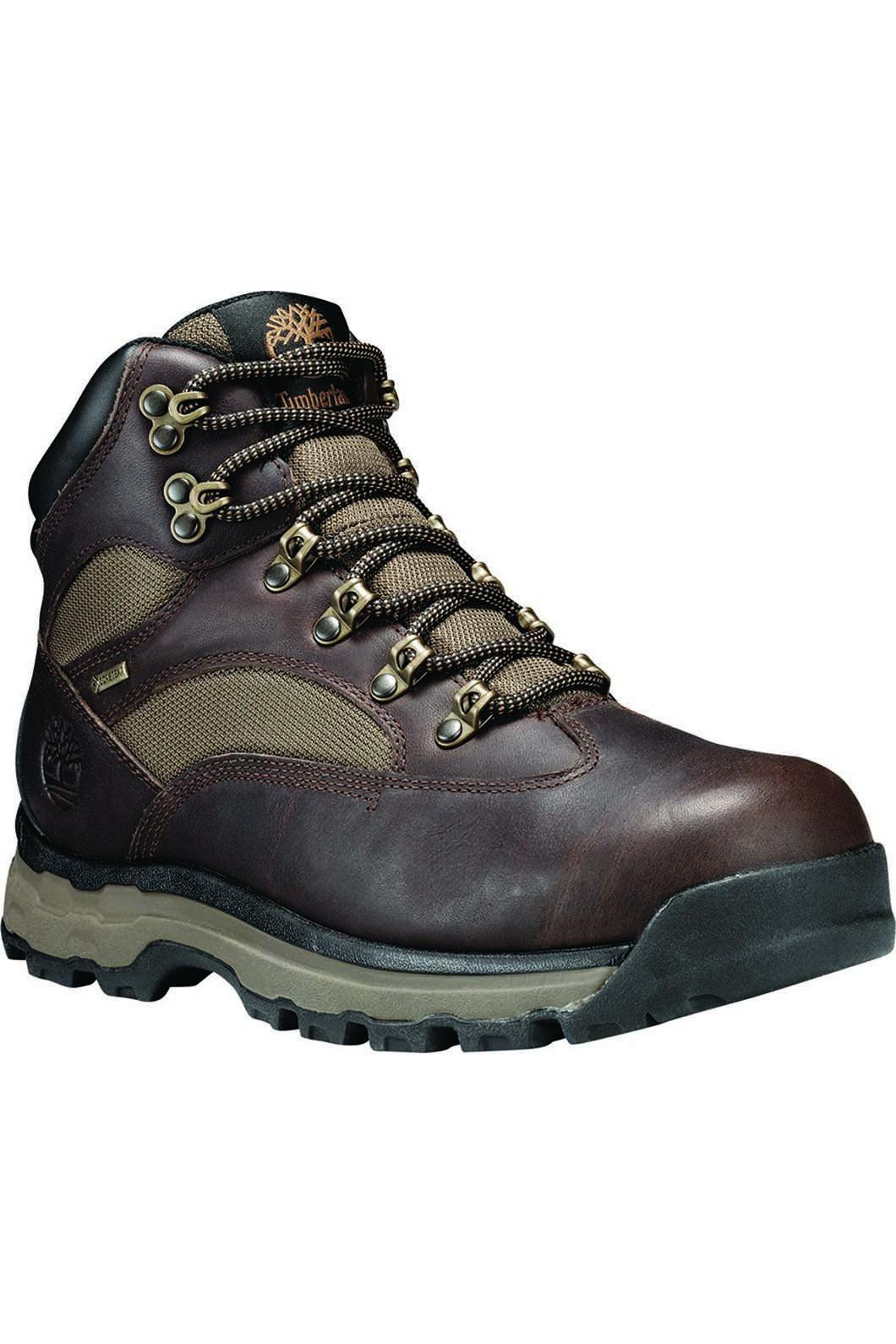 Timberland Men's Chocorua Trail 2 Hiking Boot, DARK BROWN FULL-GRAIN, hi-res