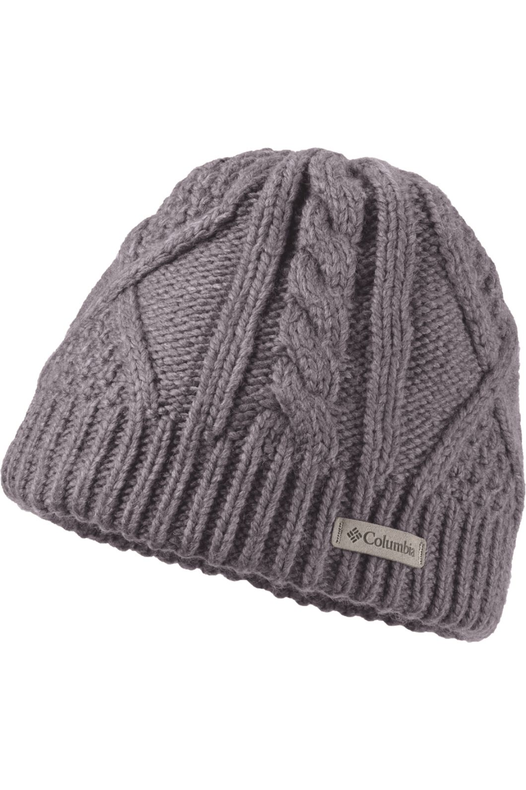Columbia Women's Cabled Cutie Beanie Astral One Size Fits Most, Astral, hi-res