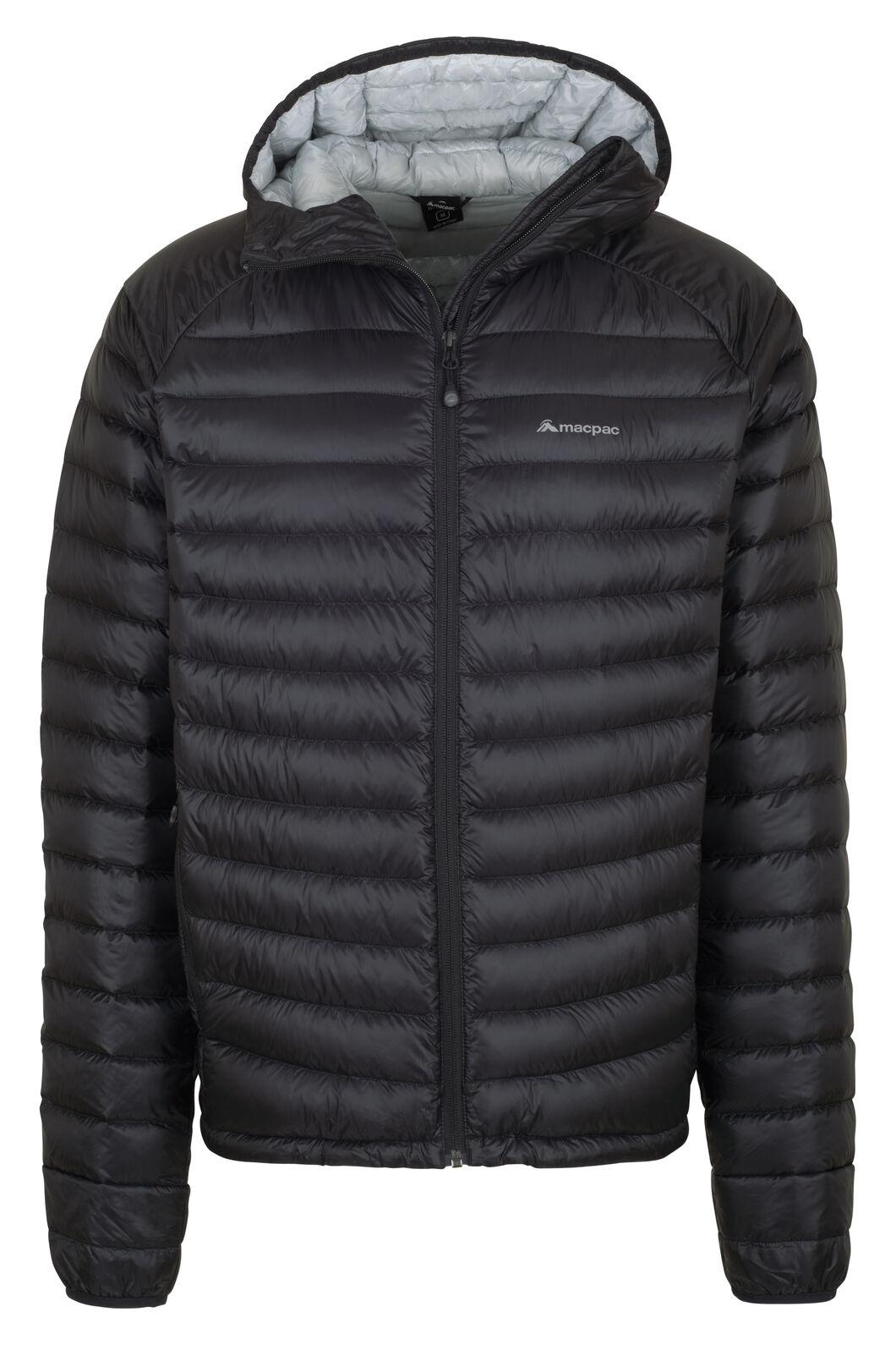 Macpac Icefall HyperDRY™ Hooded Jacket — Men's, Black, hi-res