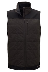 Macpac Men's Accelerate PrimaLoft® Fleece Vest, Black, hi-res