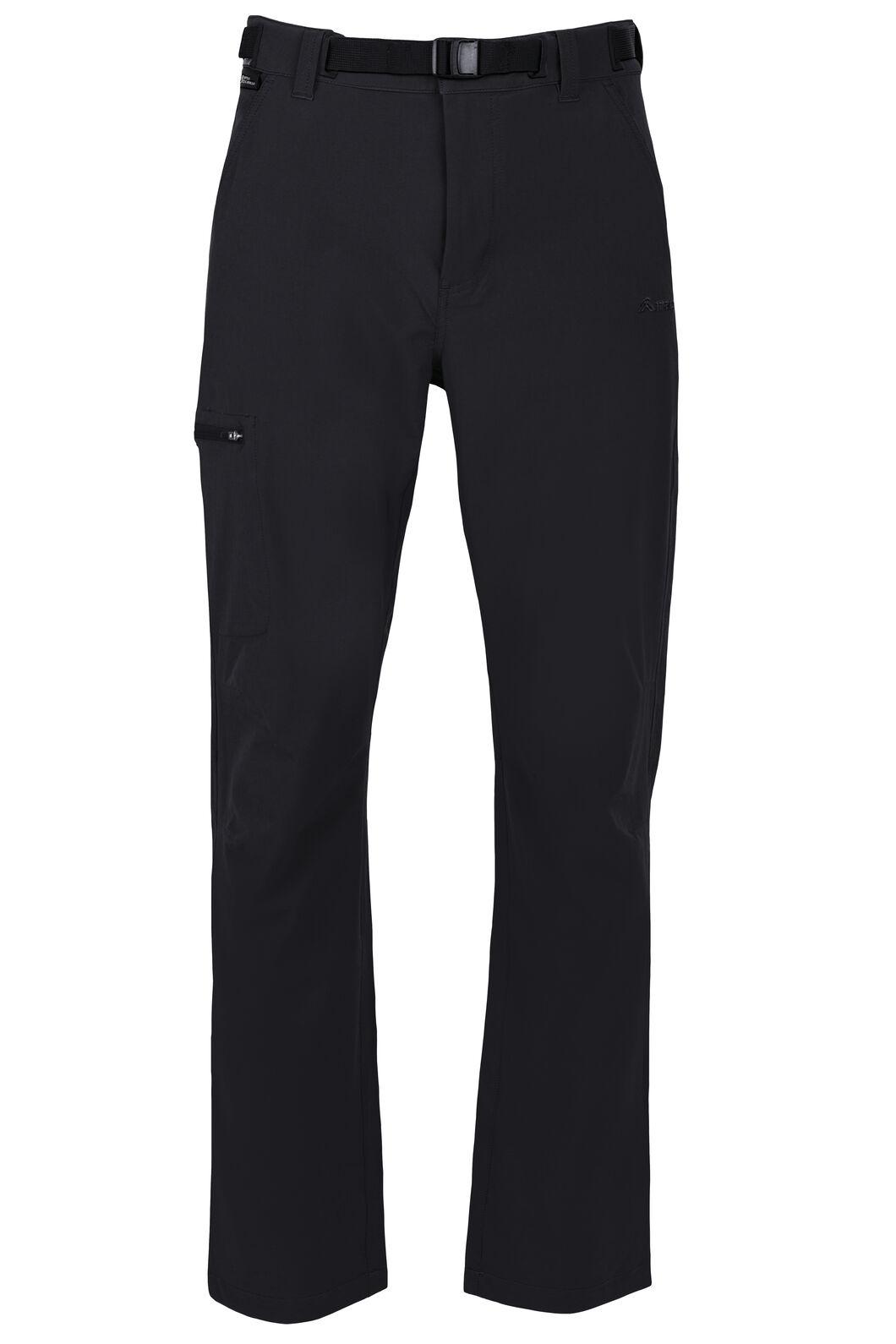 Macpac Trekker Pertex® Equilibrium Softshell Pants - Men's, Black, hi-res