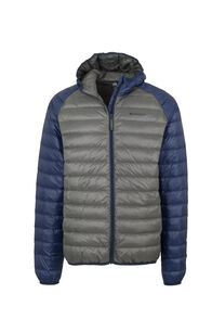 Macpac Uber Hooded Down Jacket - Men's, Medieval/Iron Gate, hi-res