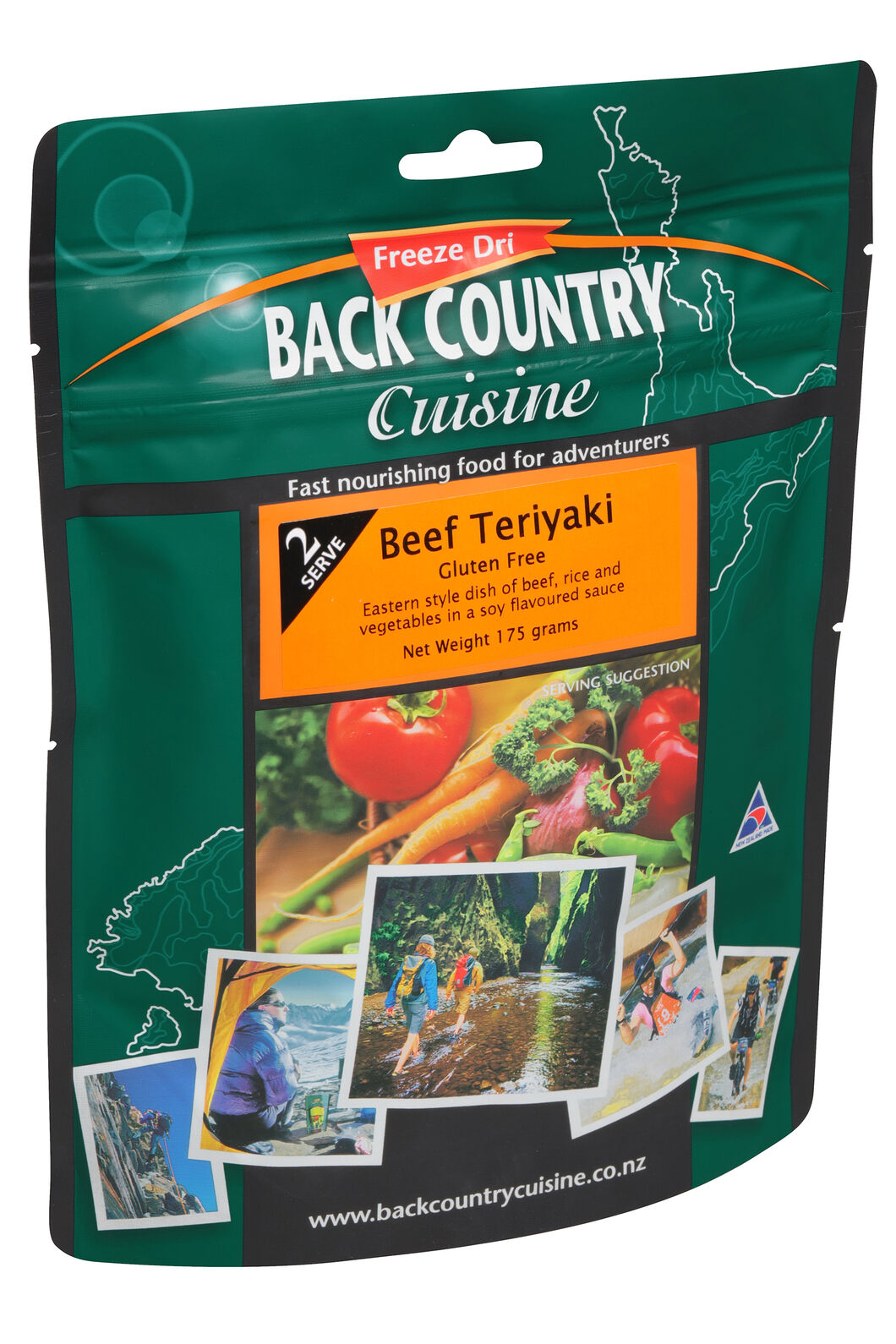 Back Country Cuisine Beef Teriyaki (Gluten Free) — Regular Serve, None, hi-res
