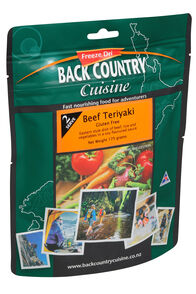 Back Country Cuisine Freeze Dried Food Beef Teriyaki 2 Serves, None, hi-res