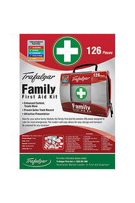 Trafalgar 126 Piece Family First Aid Kit, None, hi-res