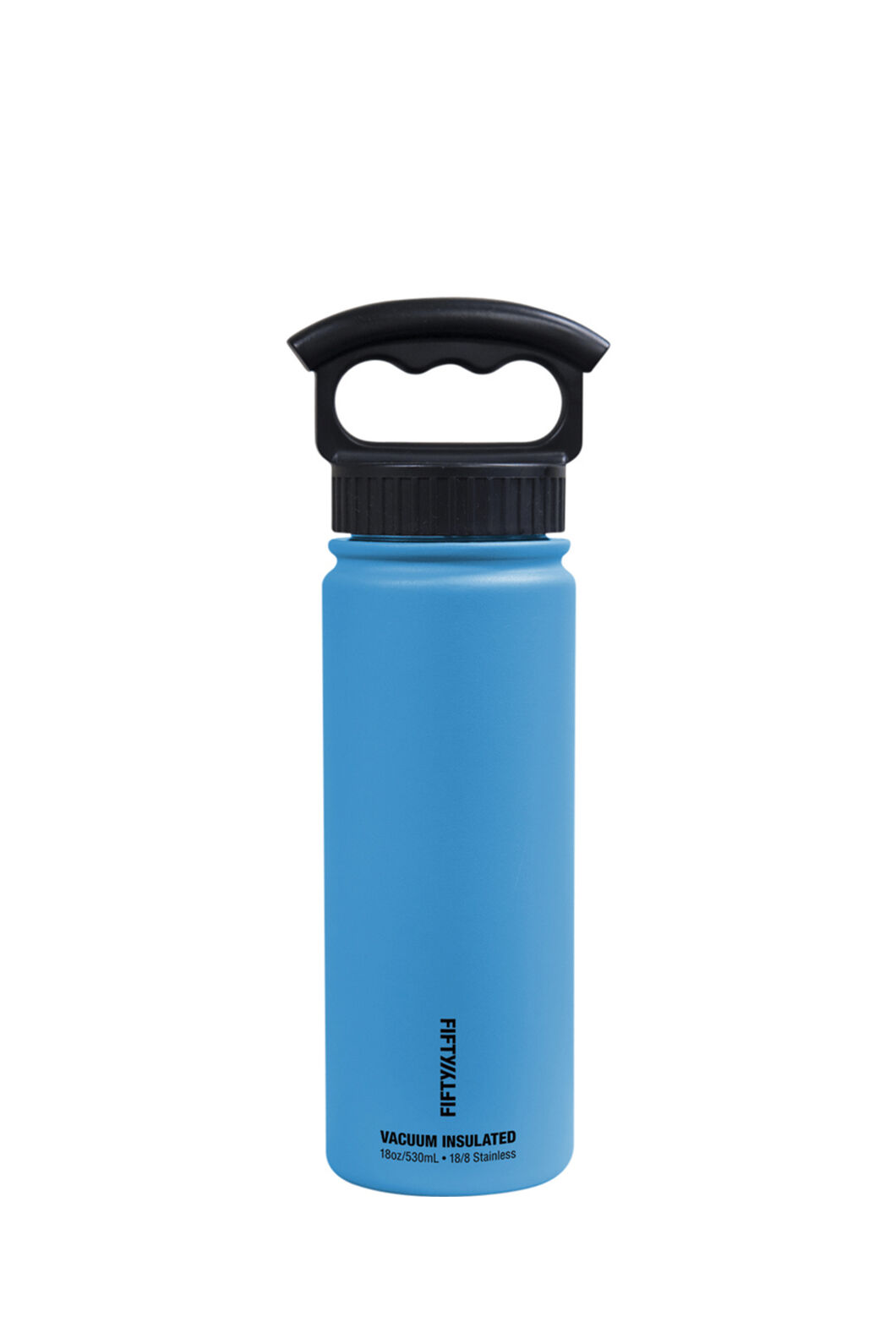 FIFTY/FIFTY® 18oz Insulated Bottle, Crater Blue, hi-res