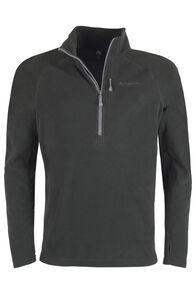 Macpac Tui Fleece Pullover - Men's, Black, hi-res