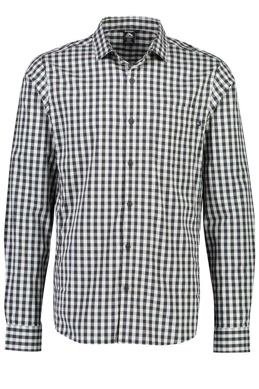 Crossroad Long Sleeve Shirt - Men's, Anthracite, hi-res