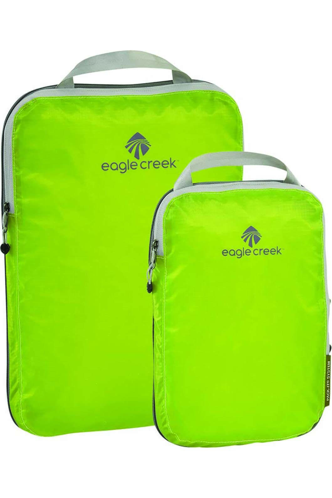 Eagle Creek Pack-It Specter Compression Cube Settrobe, STROBE GREEN, hi-res