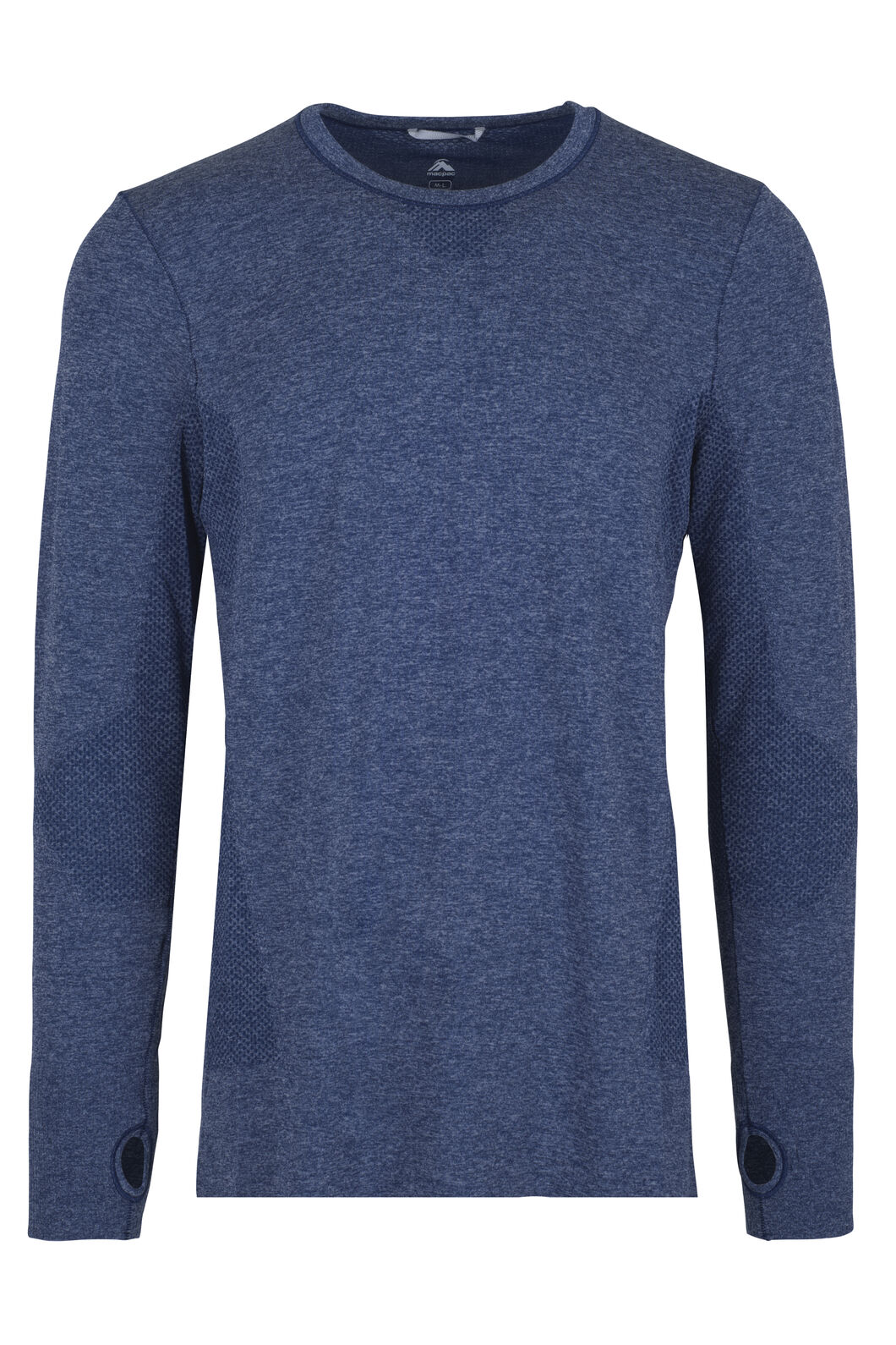 Macpac Limitless Long Sleeve Tee - Men's, Medieval Blue, hi-res