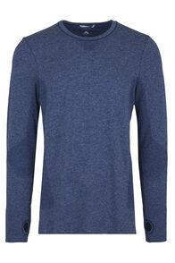 Macpac Limitless Long Sleeve Tee - Men's, Medieval Blue, hi-res
