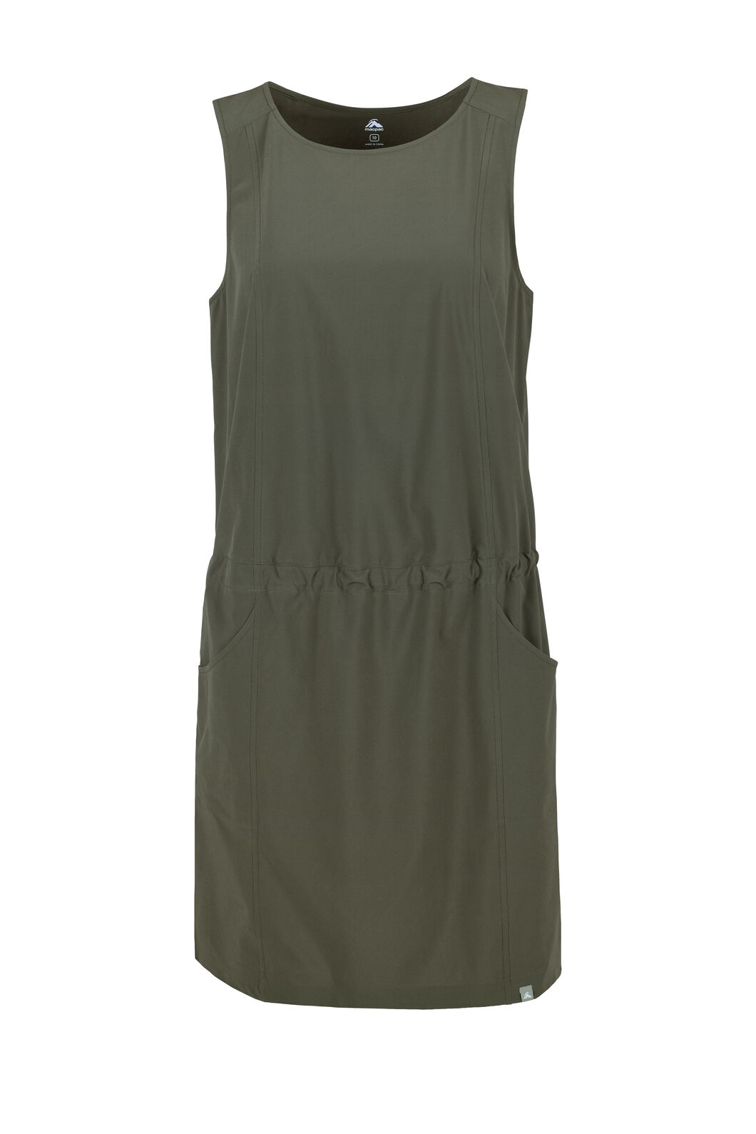 Macpac Mica Dress — Women's, Deep Olive, hi-res