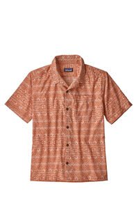 Patagonia Stretch Planing Hybrid Shirt — Men's, Tradewinds small/sunsetorange, hi-res
