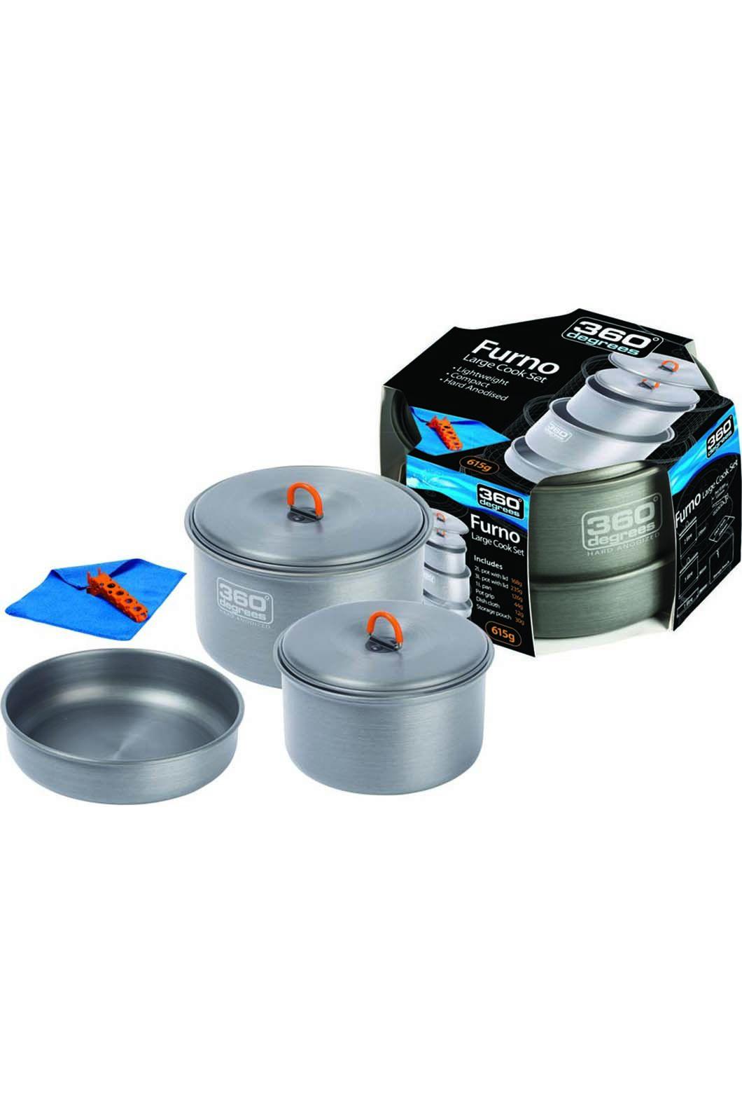 360 Degrees Furno Large Cooking Set, None, hi-res