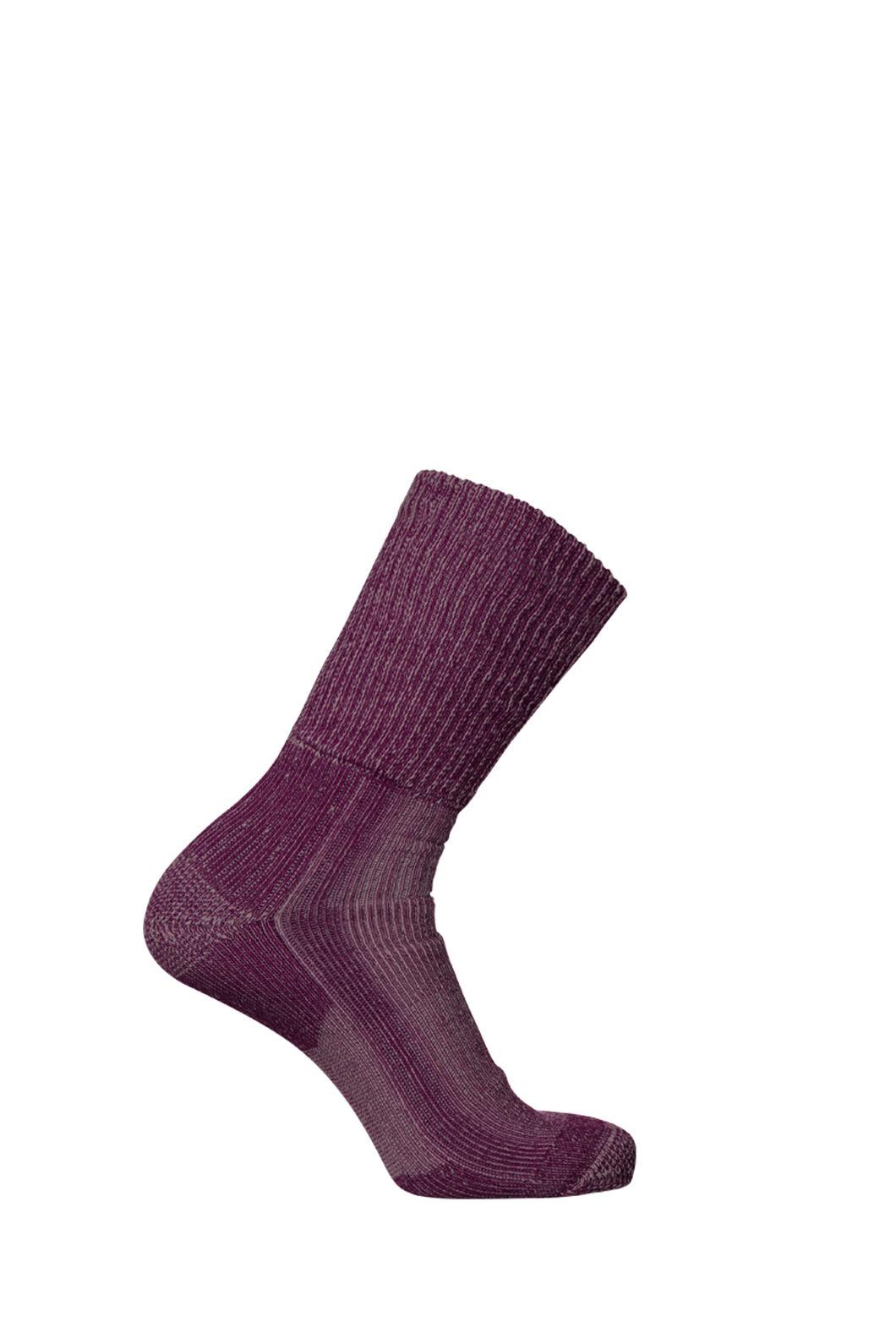 Macpac Winter Hiker Socks, Magenta, hi-res