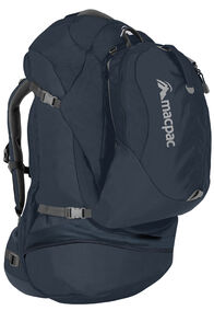 Macpac Orient Express 65L Travel Pack, Carbon, hi-res