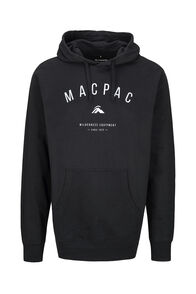 Macpac Organic Cotton Hoody — Men's, Black, hi-res