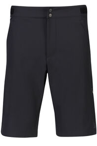 Macpac Stretch Pertex Equilibrium® Mountain Bike Shorts - Men's, Black, hi-res