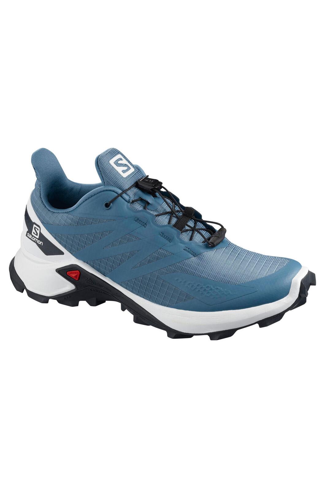 Salomon Supercross Blast Trail Running Shoes — Women's, Copen Blue/White/Black, hi-res