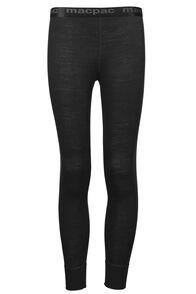 Merino 210 Pants Kids, Black, hi-res