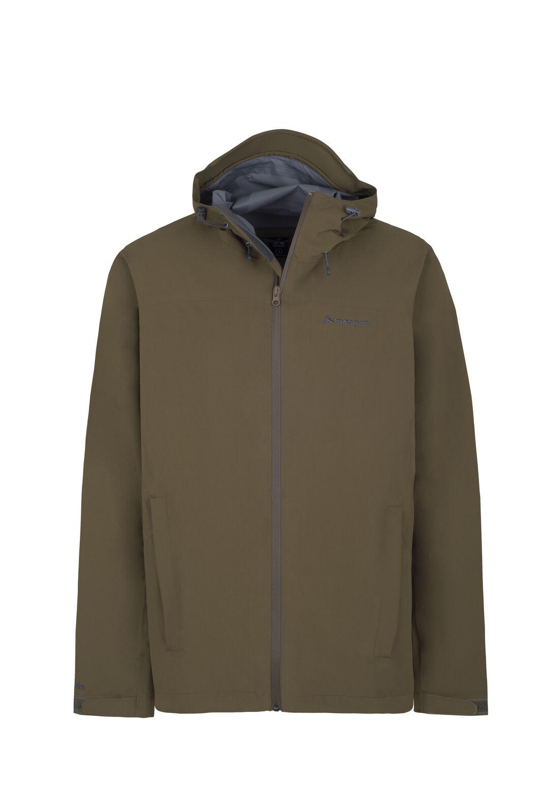 Macpac Dispatch Rain Jacket — Men's, Military Olive, hi-res