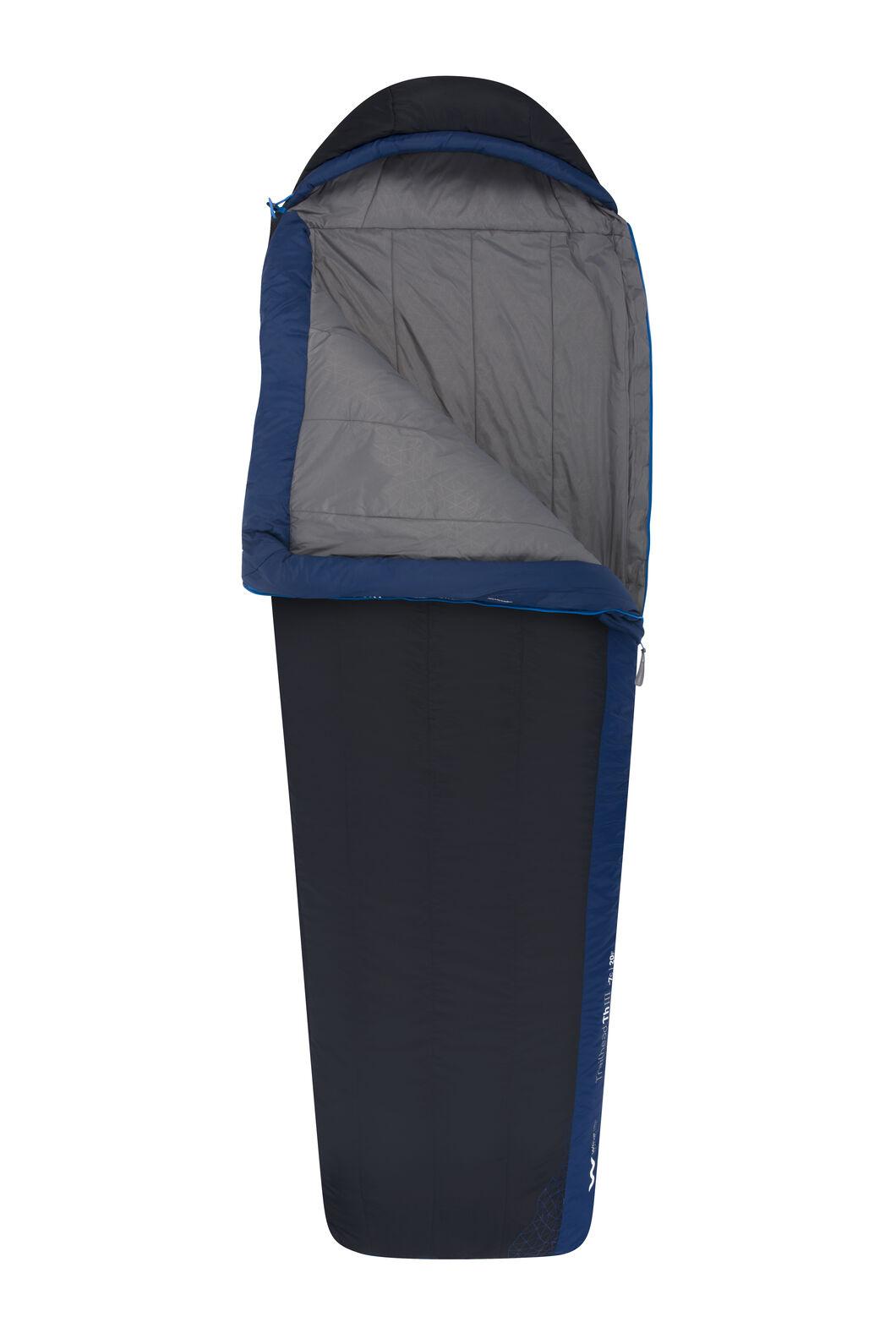 Sea to Summit Trailhead III Sleeping Bag - Long, Dark Blue, hi-res