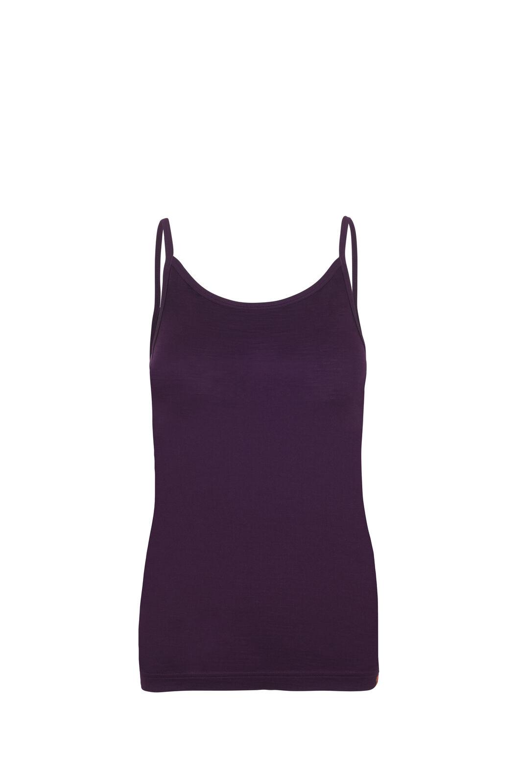 Macpac 150 Merino Camisole - Women's, Potent Purple, hi-res