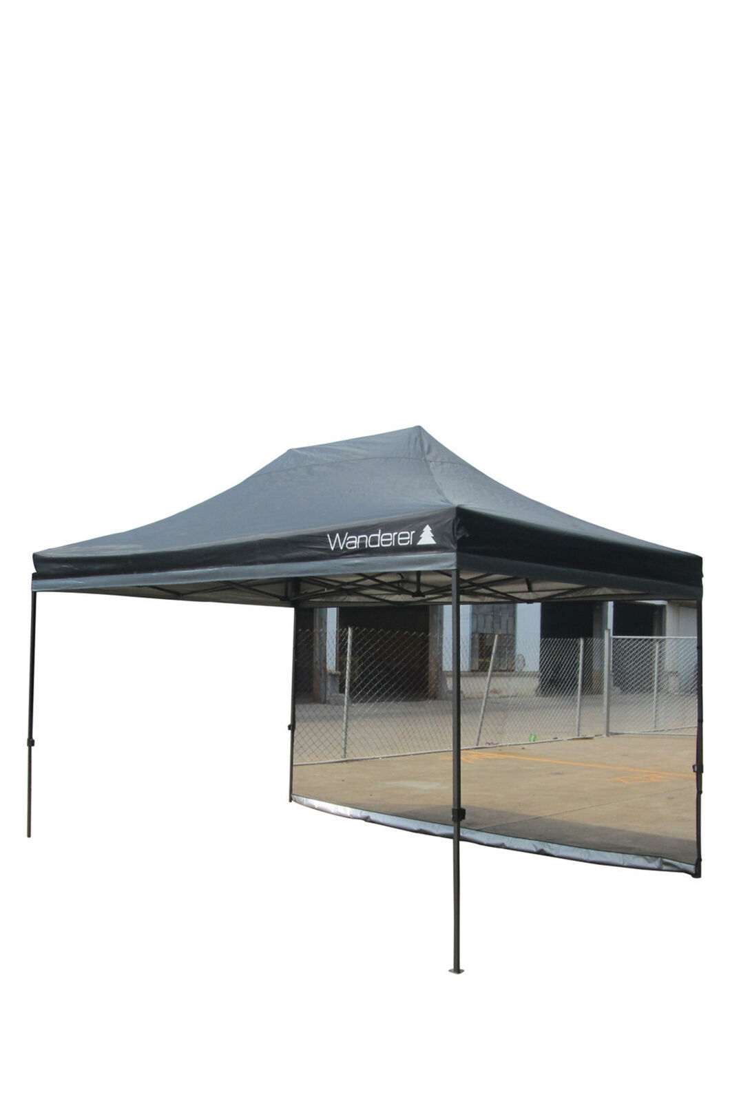 Wanderer Gazebo Mesh Wall Kit — 4.5 m, None, hi-res