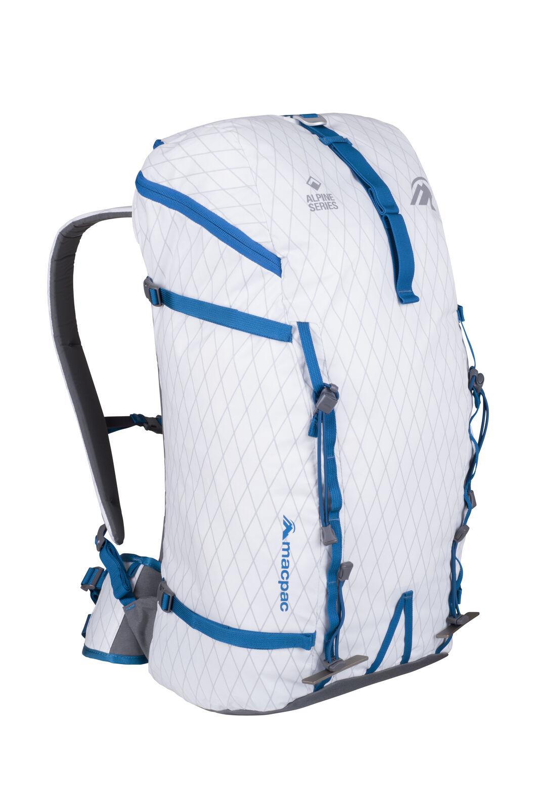 Macpac NZAT Pursuit 40L Pack, White, hi-res