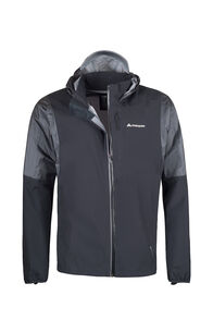 Macpac Transition Pertex® Rain Jacket - Men's, Black, hi-res