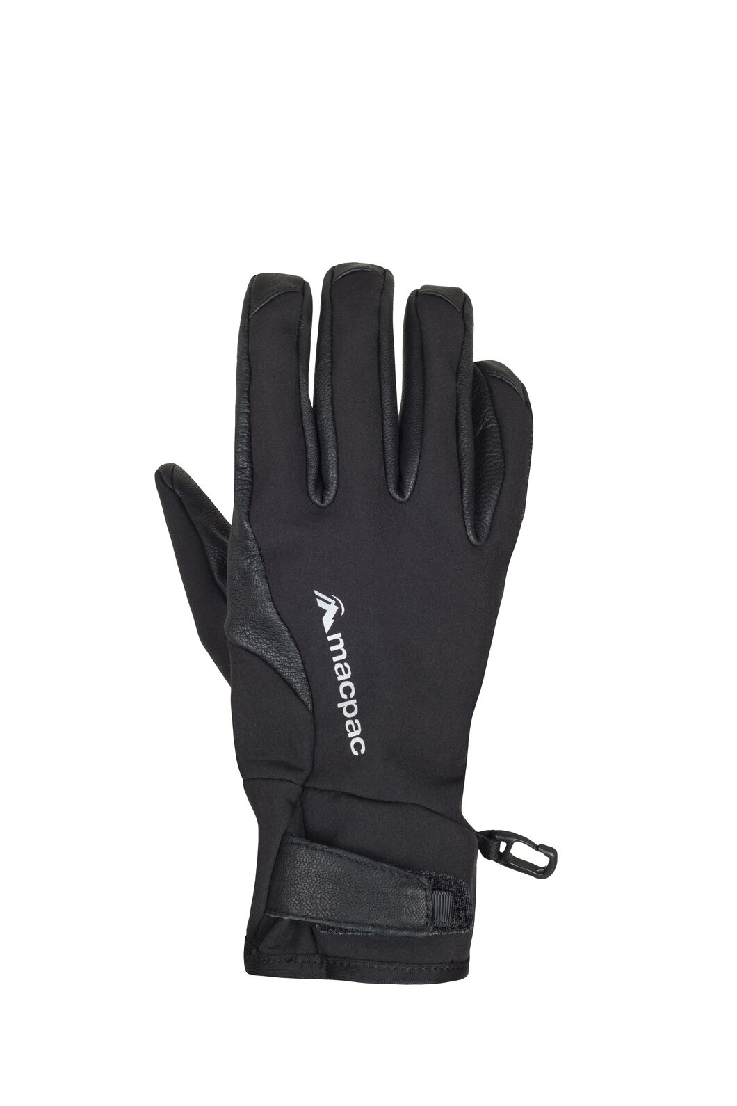 Macpac Dash Glove, Black, hi-res