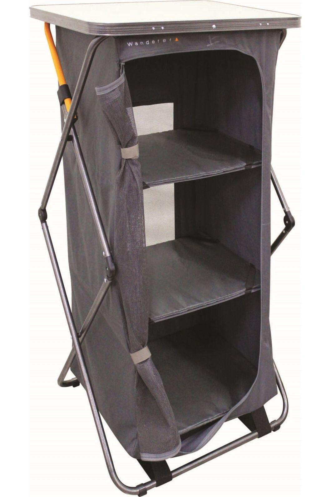 Wanderer Premium Instant 3 Shelf Cupboard, None, hi-res