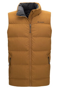 Macpac Accord Down Vest — Men's, Bronze, hi-res