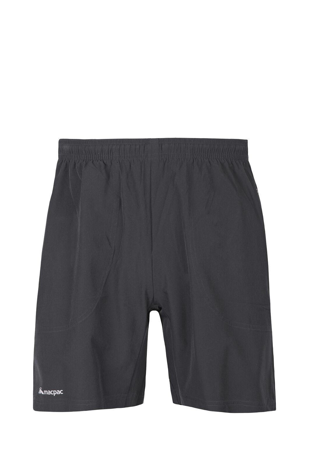 Macpac Fast Track Shorts — Men's, Black, hi-res