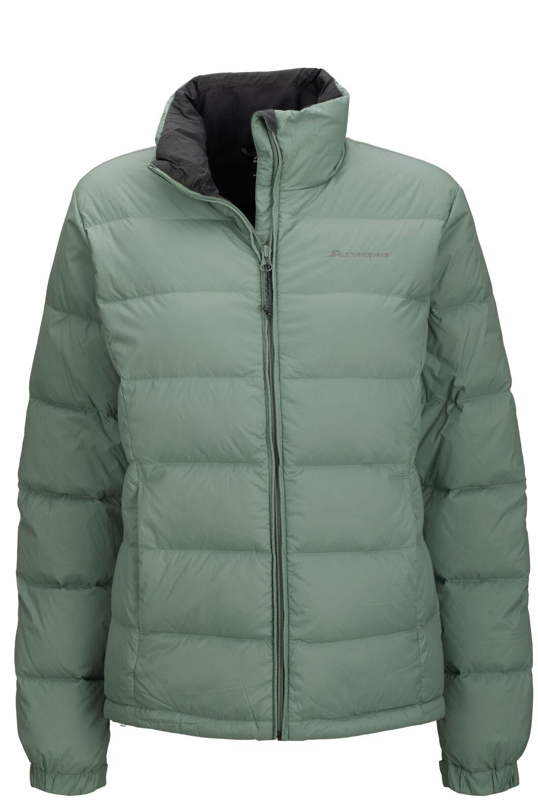 Macpac Halo Down Jacket — Women's, Green Bay, hi-res