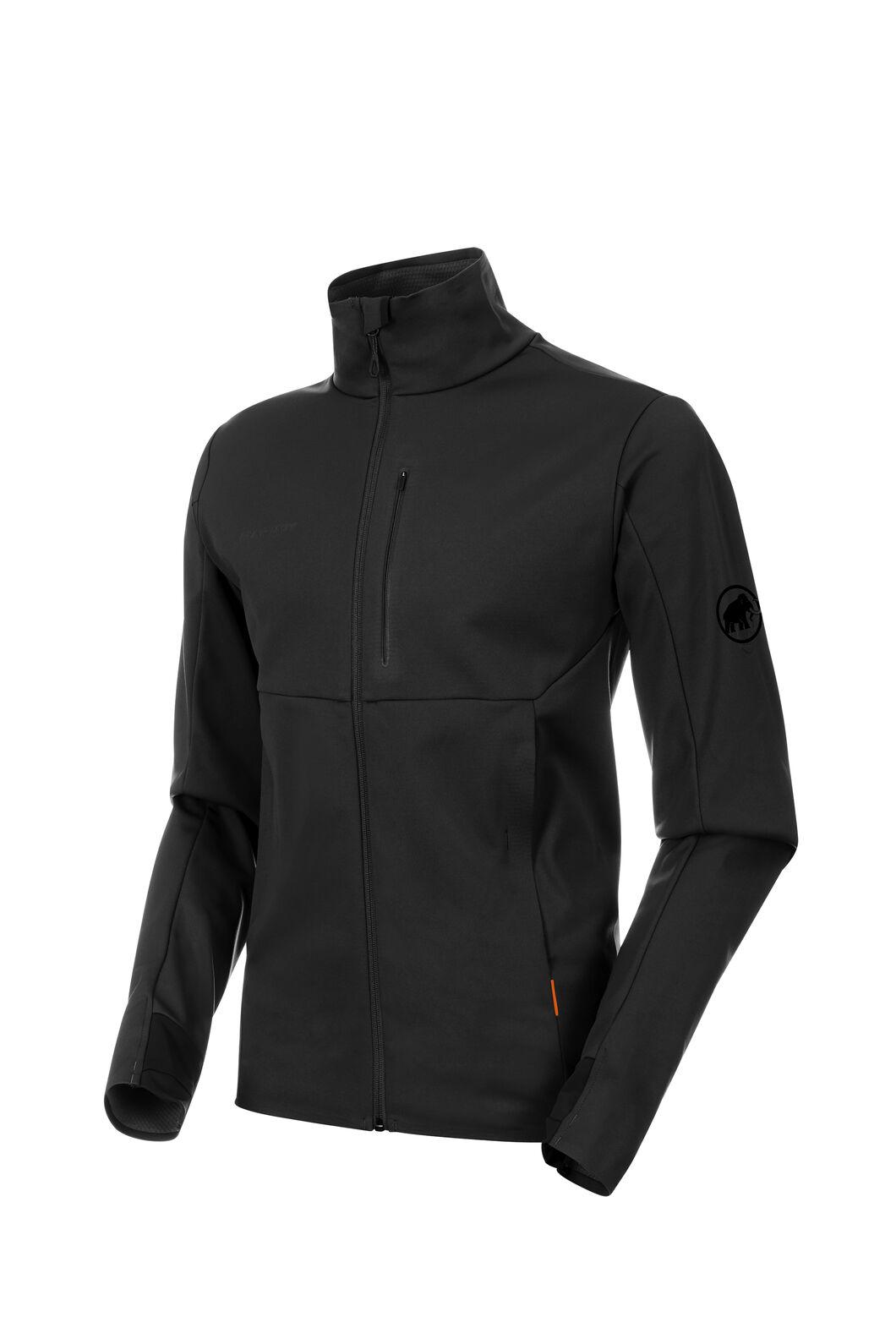 Mammut Ultimate V Softshell Jacket - Men's, Black/Black, hi-res