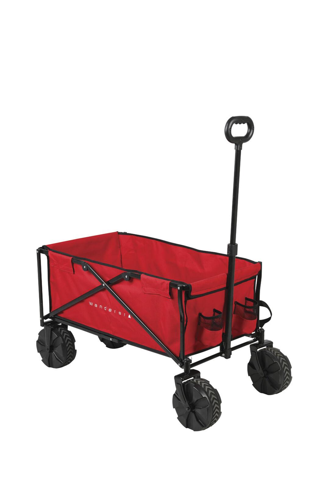 Wanderer Rugged Cart Beach Wagon, Rugged Red, hi-res