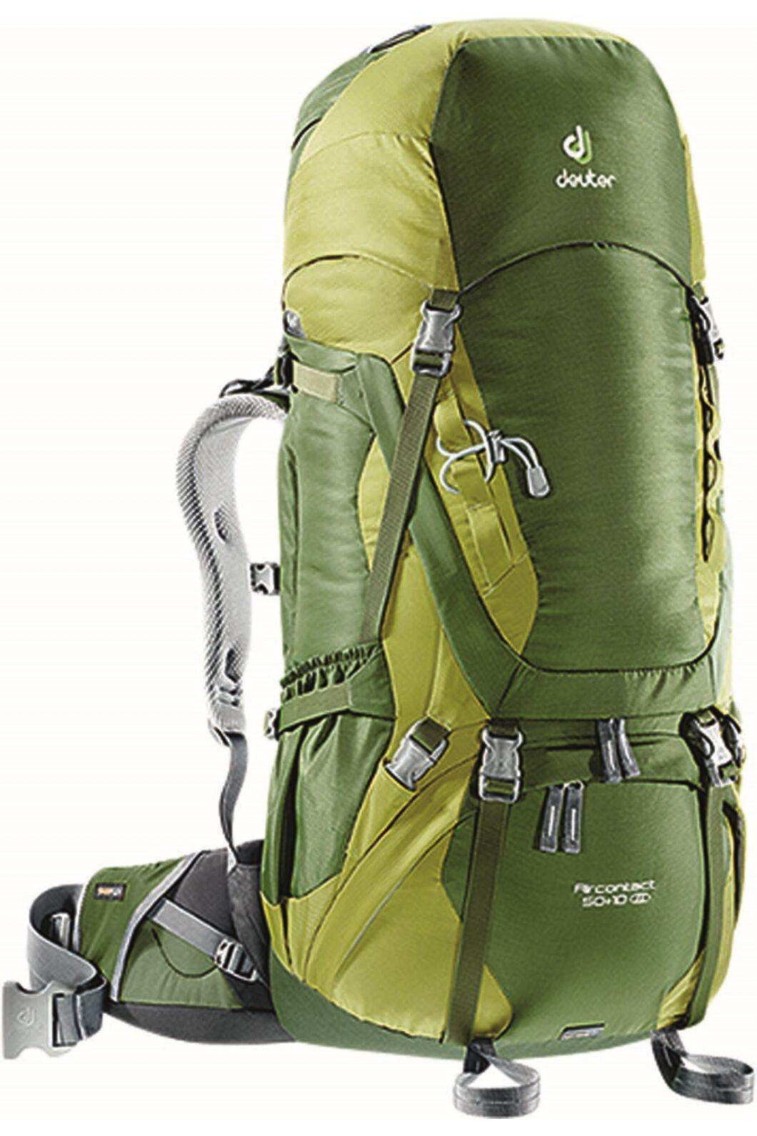 Deuter Aircontact Trekking Pack 50L+10L Pine Moss, None, hi-res