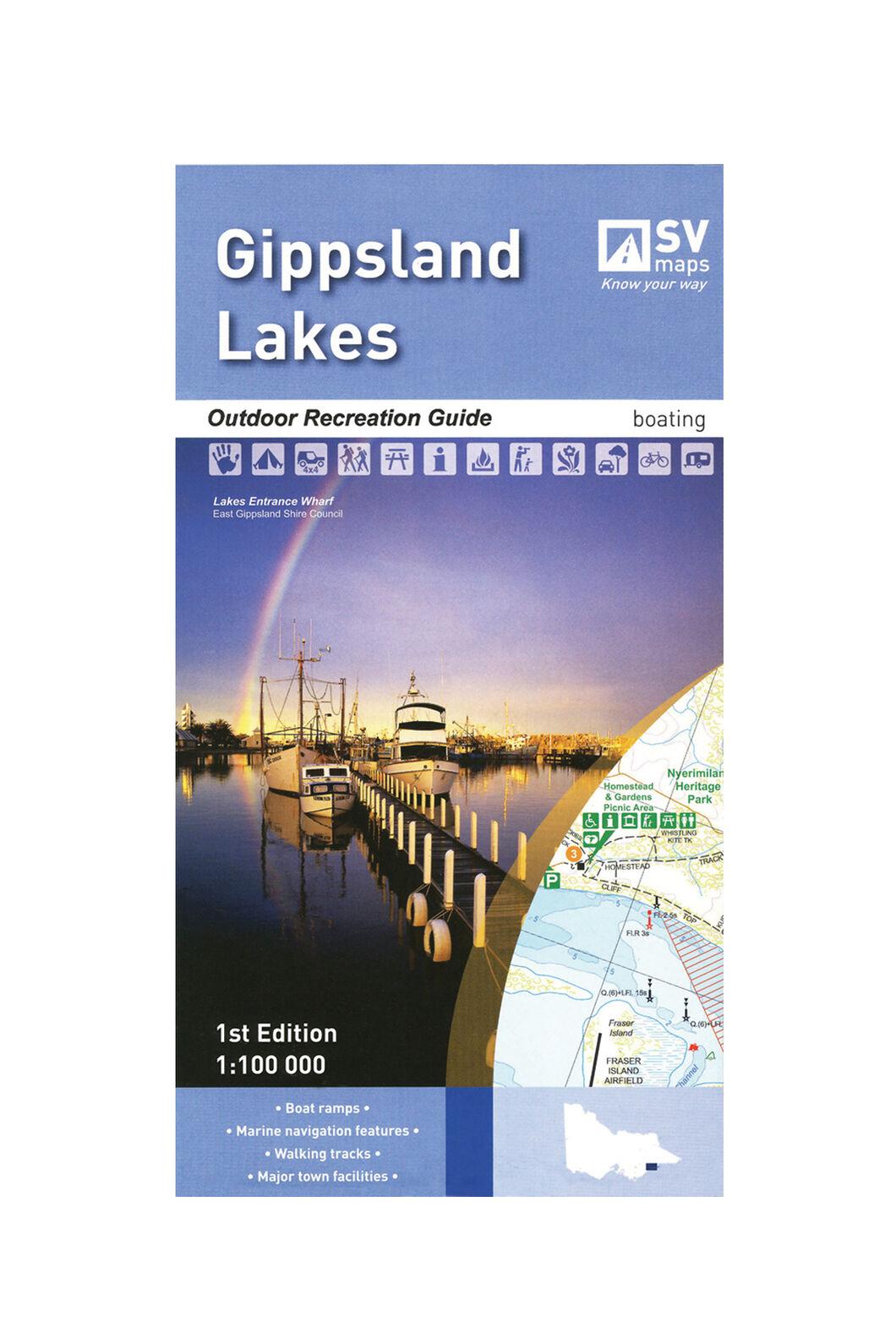 Hema Gippsland Lakes Recreation Guide, None, hi-res