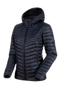Mammut Convey Insulated Hooded Jacket - Women's, Black/Phantom, hi-res