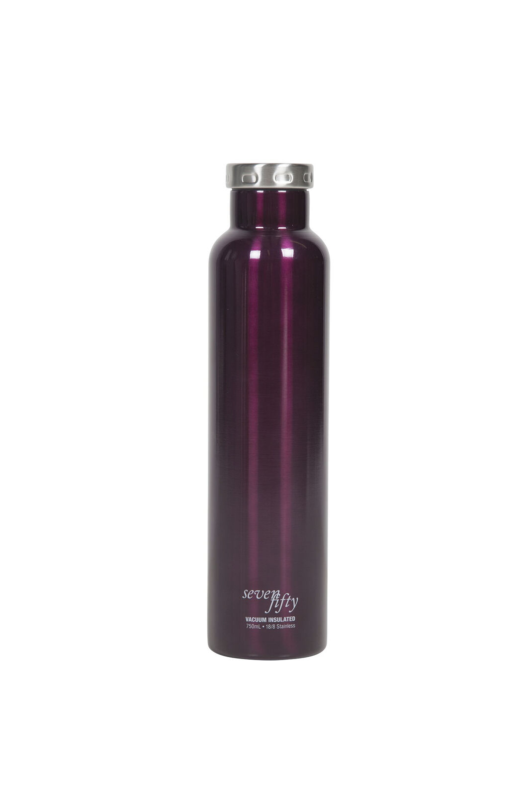 FIFTY/FIFTY® Seven/Fifty Wine Growler — 25 oz./750 ml, BURGUNDY, hi-res