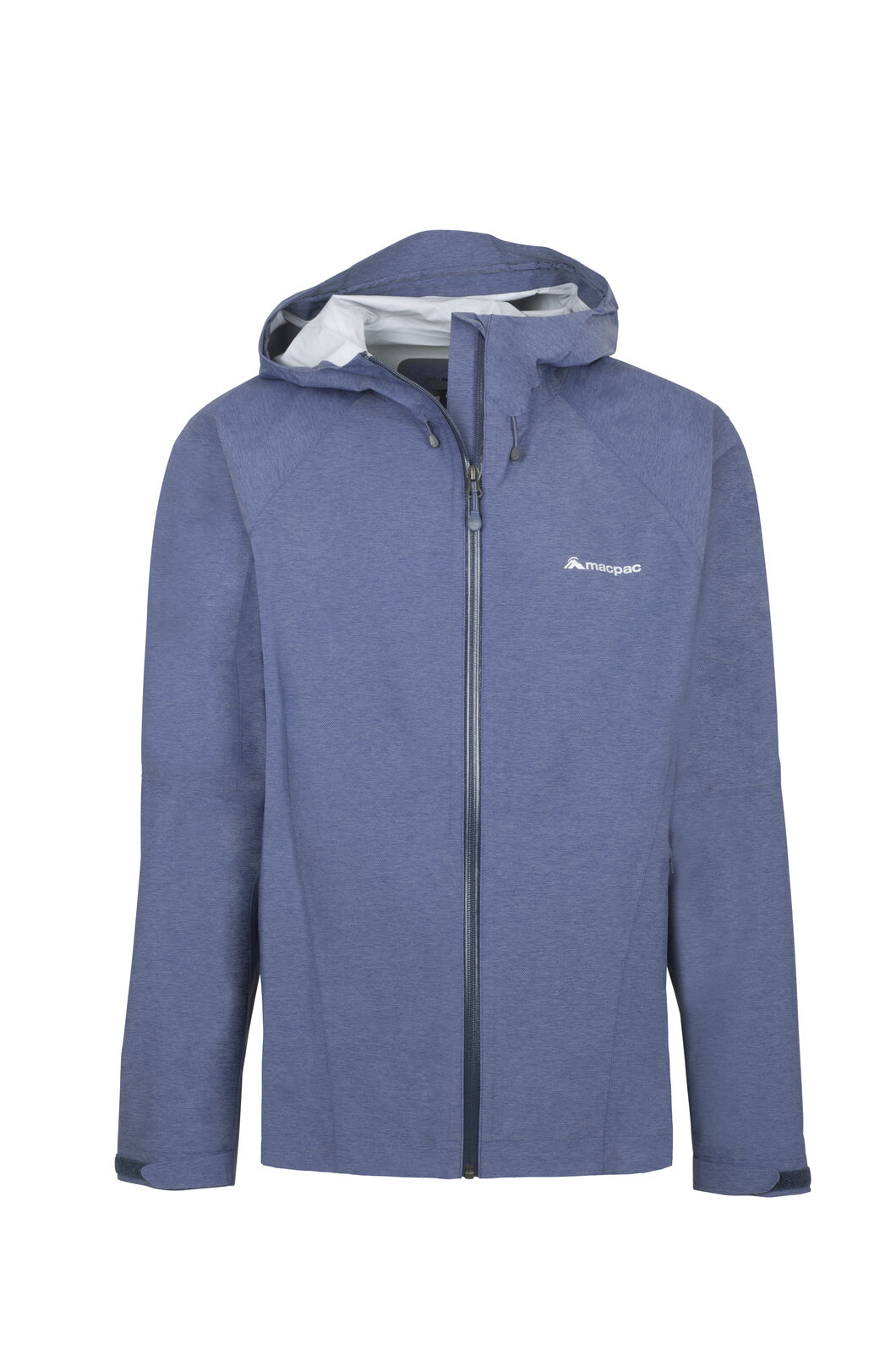 Macpac Less is Less Rain Jacket - Men's, Medieval Blue, hi-res