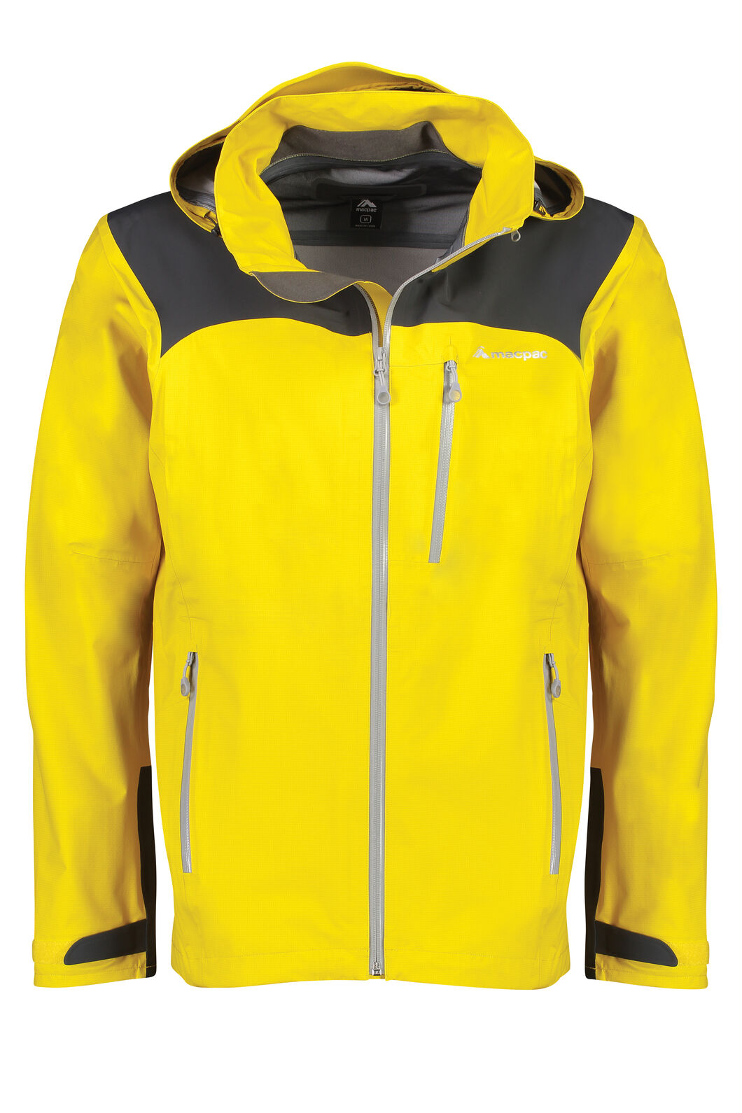 Macpac Traverse Pertex®Rain Jacket - Men's, Lemon Curry, hi-res